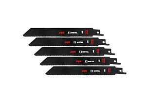 SKIL Set of 5 BIM saw blades for metal